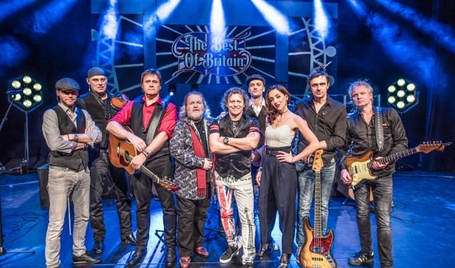 De muzikanten van The Best of Britain (foto: Harry Muis)