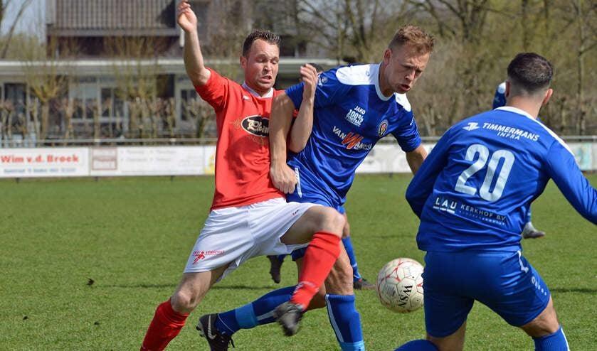 Beeld uit de wedstrijd Venhorst - BVV