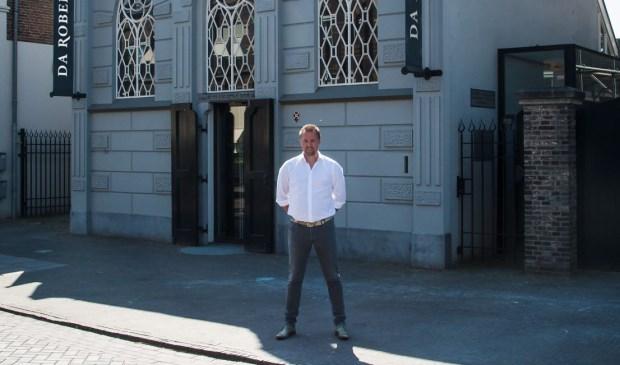 De ambitieuze Robert Wallet voor zijn nieuwe restaurant.