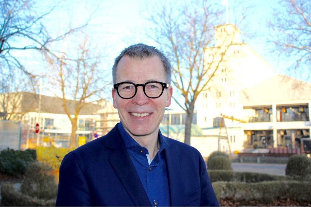 Harry Vermeulen is de nieuwe directeur van de Blauwe Kei en Stichting Cultuurfabriek.   © Kliknieuws Veghel