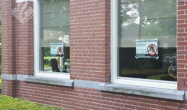 Drugspand in Heesch. (Foto: Twitter Gerrit van der Kaap)