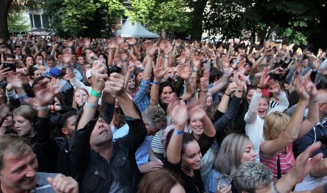 Publiek tijdens Muze Misse. (Archieffoto: Hans van der Poel)