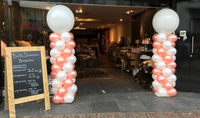 Pop up store bella decoration in udens centrum