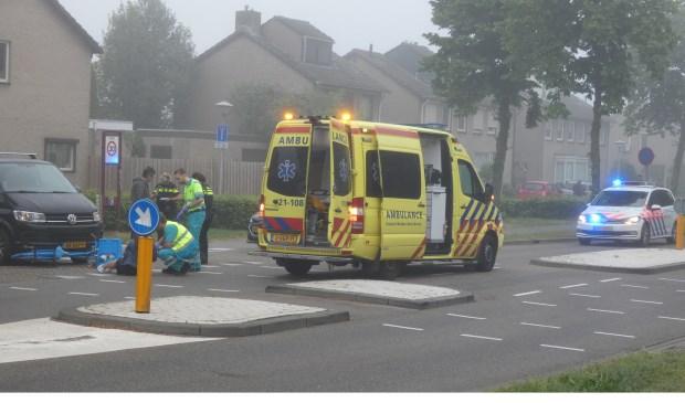 Ongeval op de Braakstraat/Heischeutstraat.