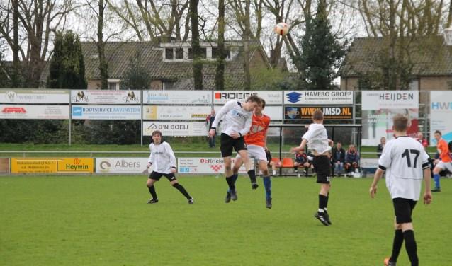DAW verloor van Vitesse'08. (Foto: Ingrid Willems)