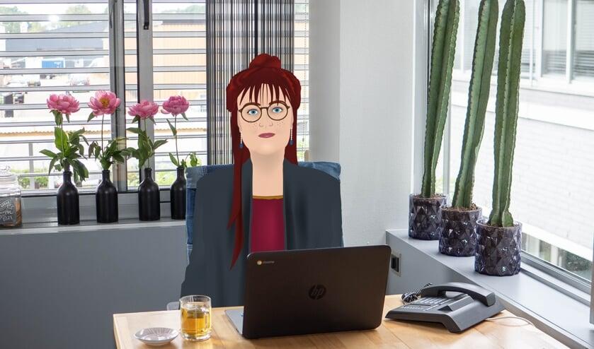 Wilma Groenendijk in animatievorm