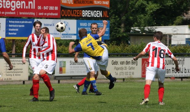 De 0-1 van Jordi Verhagen is in de maak met zijn fraaie omhaal