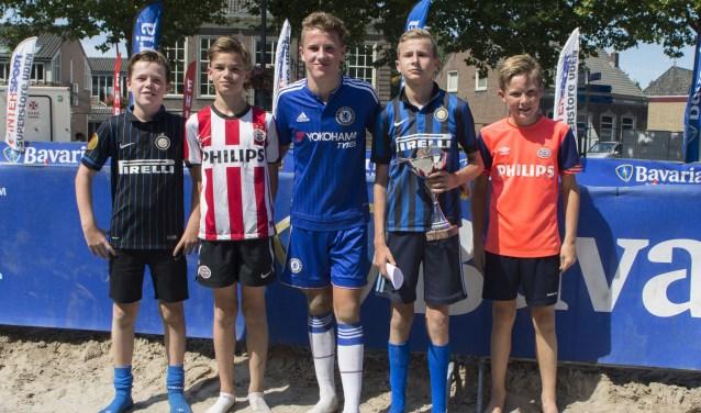 Spelers van RKVV Erp en De Korfrakkers openen het weekend op zaterdag met het jeugdtoernooi.