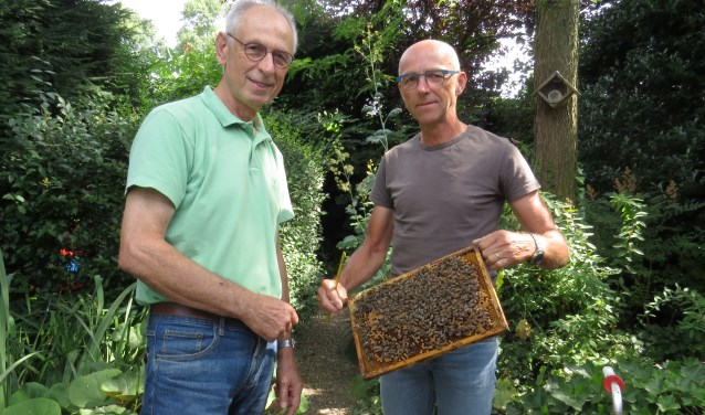 Gerard Goorsenberg (links) en Ron van Rooij.
