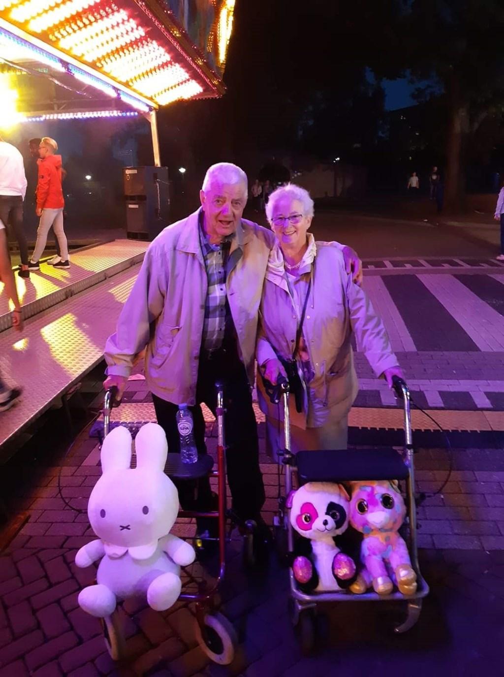 Opa en oma Van Dijk. (Foto: Jolanda)  © Kliknieuws Oss
