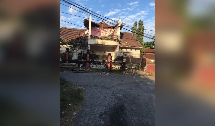Schade op Lombok. (Foto: Paul van de Poel)