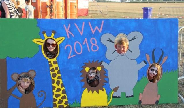Een activiteit tijdens de Kindervakantieweek Lith. (Foto: Facebook KVW Lith)