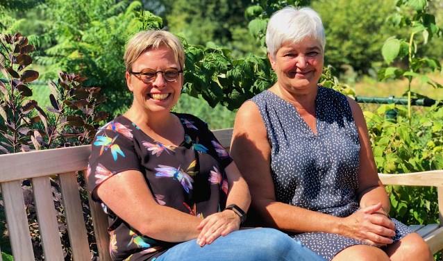 Esther de Bie en Trudy van Daatselaar zijn blij dat de Kwiekroute er eindelijk gaat komen.