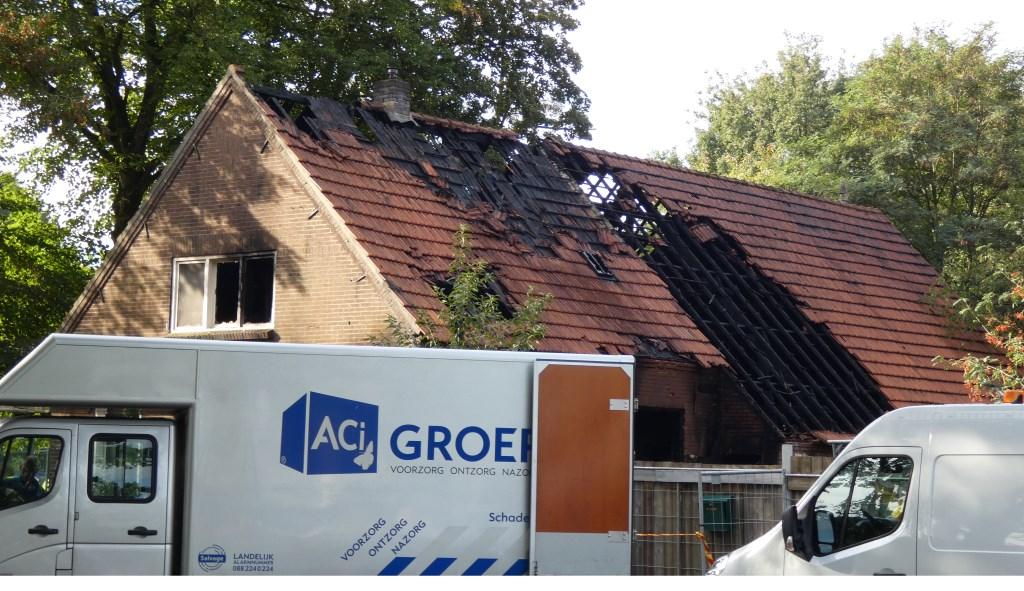 De woning in de Aengelbertlaan.  © Kliknieuws Oss