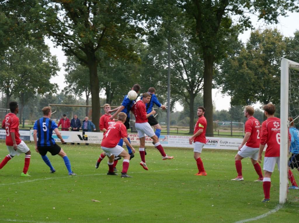 DWSH'18 won na een heus spektakelstuk haar eerste officiële thuiswedstrijd ooit met 4-3 van SVS. (foto's: DWSH'18)  © Kliknieuws De Maas Driehoek