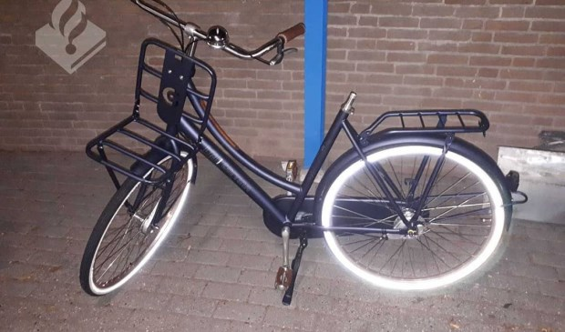 De fiets. (Foto: Facebook politie Oss)