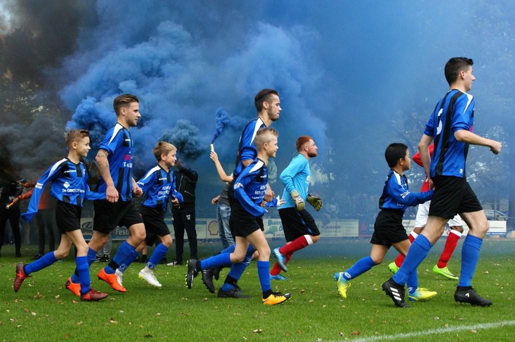 DWSH'18 won na een heus spektakelstuk haar eerste officiële thuiswedstrijd ooit met 4-3 van SVS. (foto's: Jeff Meijs/Voetbak-shoot.nl)  © Kliknieuws De Maas Driehoek