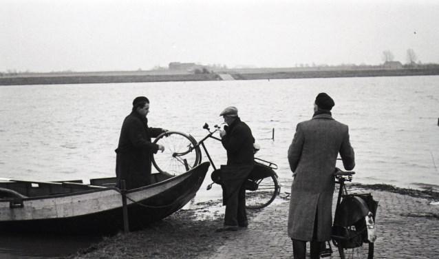 Een foto uit Keent in 1952. (Daan Scholte, collectie Stadsarchief Oss)