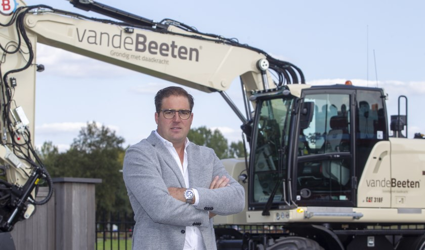 Directeur Bas van de Beeten.