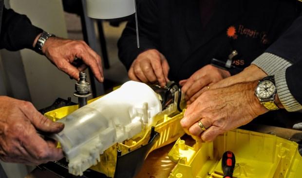 Repair Café Oss in januari in het teken van goede voornemens