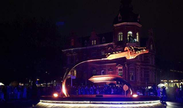 De rotonde voor Museum Jan Cunen.