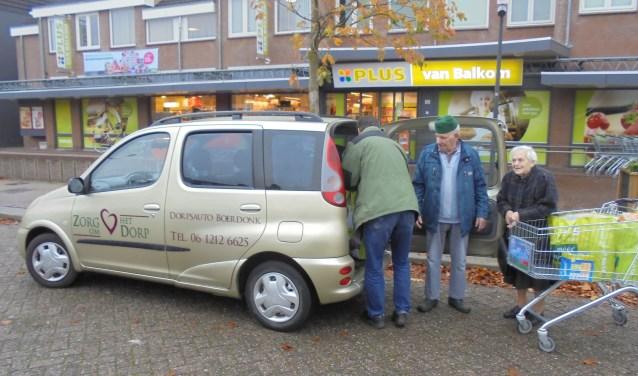 De dorpsauto in Boerdonk wordt vaak gebruikt.