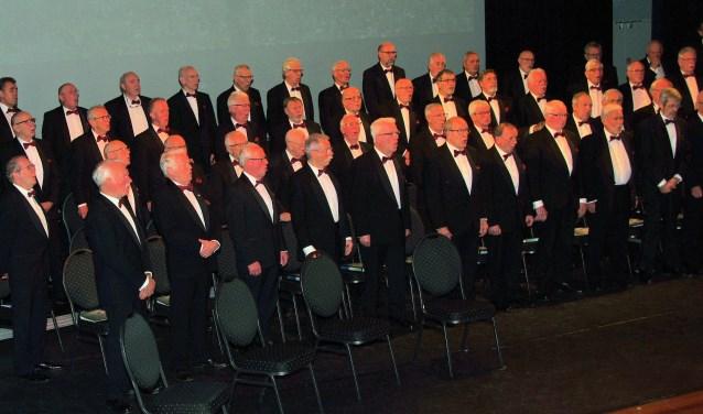 Een deel van het koor