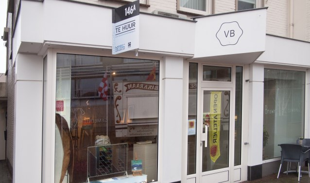 Het pand waar de pop-up galerie in is gevestigd aan Steenstraat 146a in Boxmeer.