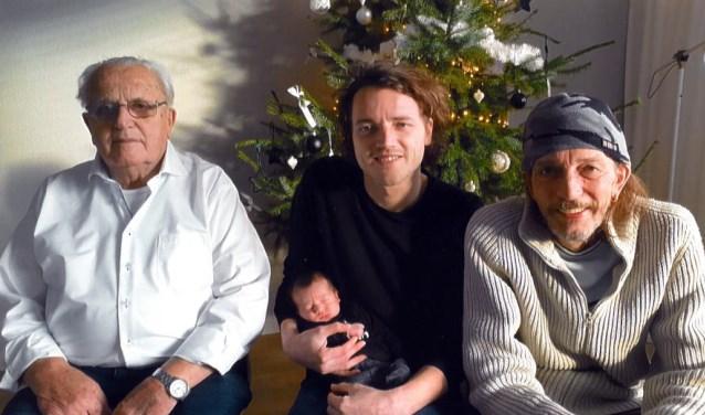 Vier generaties Segbars.