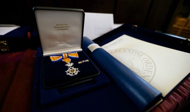 Koninklijke onderscheiding.