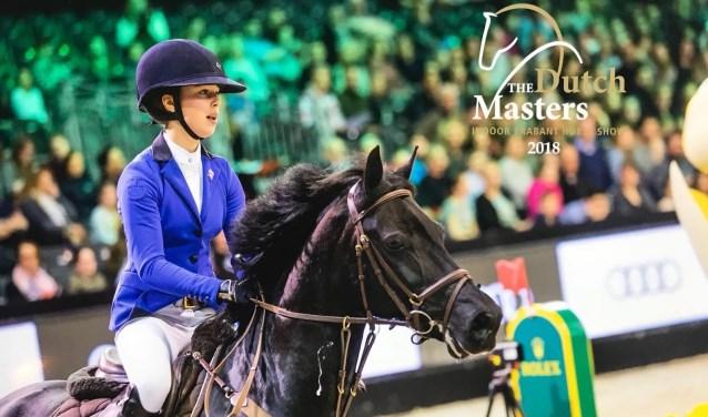 Geertje van Aarle is een talentvolle paardrijdster.