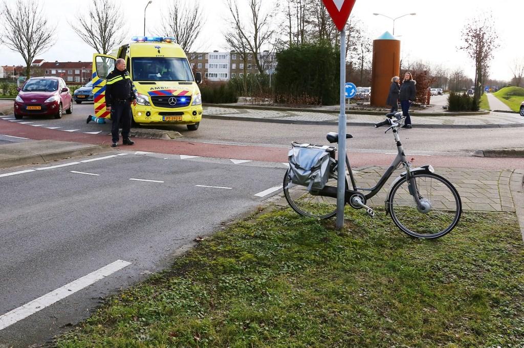 Ongeval op de John. F. Kennedybaan. (Foto: Foto Mallo)  © 112 Brabantnieuws