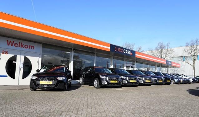 Het pand van Eurocars.