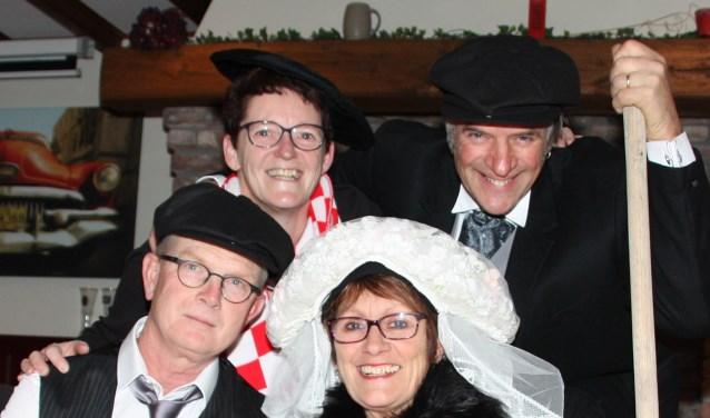 Het aanstaande boerenpaar Jan van de Vossenberg en Anja Penninx hebben er zin in.