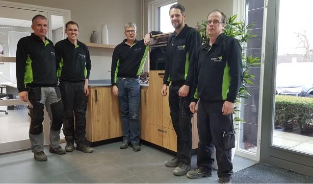 Het team van Weren Interieurprojecten in Boxmeer.