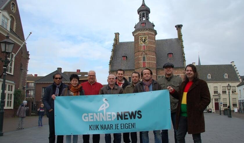 GennepNews zendt een aantal lokale evenementen live uit. (foto: Jos Gröniger)