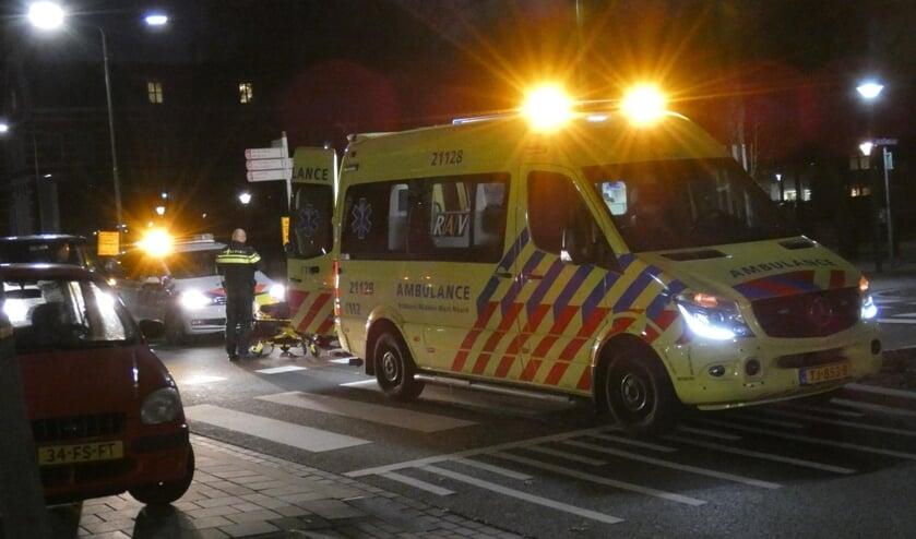 Fietsster raakt gewond bij ongeval op fietsstraat Raadhuislaan