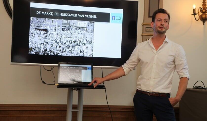 Rolf Vonk geeft dinsdag een boeiende presentatie.