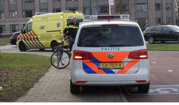 Fietser gewond bij ongeval op Osse rotonde