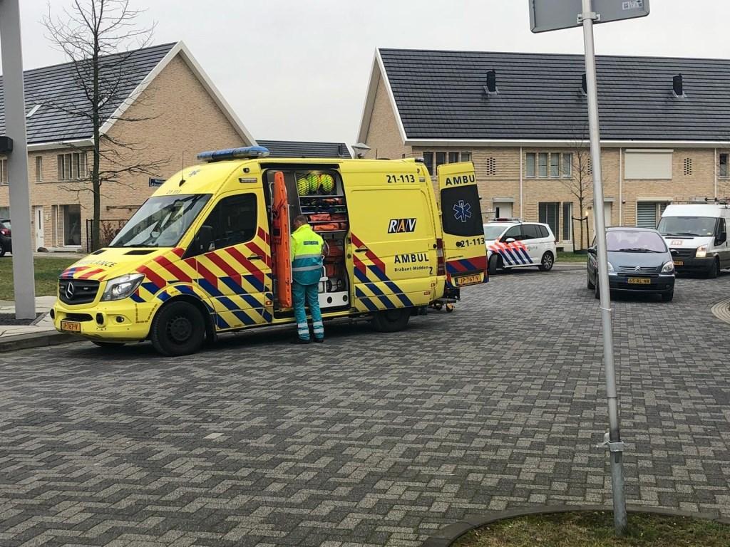 Man zwaargewond na ongeval in Medicijnstraat  © Kliknieuws Oss