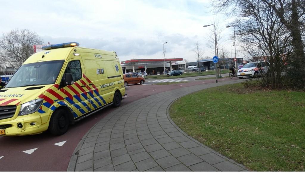 Fietser gewond bij ongeval op Osse rotonde  © Kliknieuws Oss