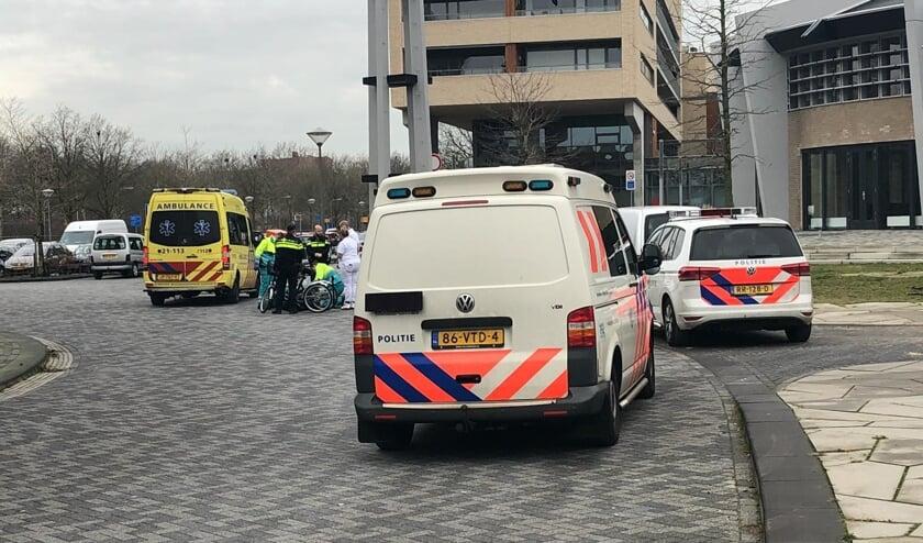 Man zwaargewond na ongeval in Medicijnstraat