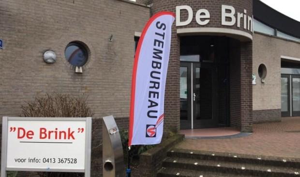 In Eerde kan er wordne gestemd in gemeenschapshuis De Brink.