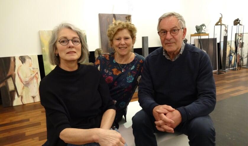 v.l.n.r: Marion de Goeij, Marjoke den Engelsen en Harry van Mil (foto: Ankh van Burk)