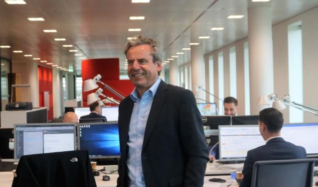 Bankdirecteur Aernout Van der Does. (Foto: Annelies Graafsma)