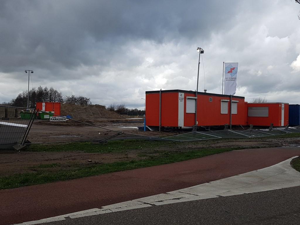 Stormschade aan de Macharenseweg.  © 112 Brabantnieuws