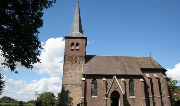 De kerk in Neerlangel.