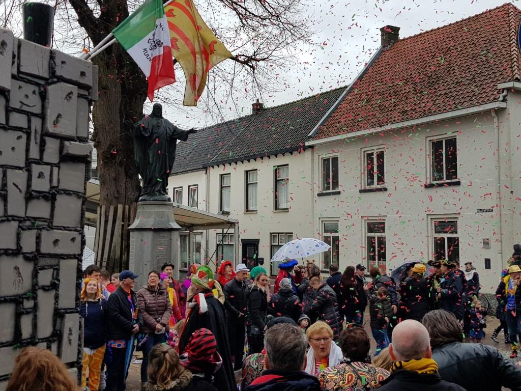 Optocht in Cuijk. (foto: Gwen)  © Kliknieuws De Maas Driehoek