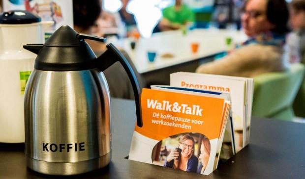 Walk&Talk: Dé koffiepauze voor werkzoekenden in de bieb