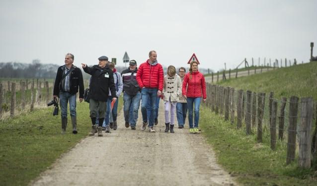 Wandeling in Keent. (Foto: James van Leuven)